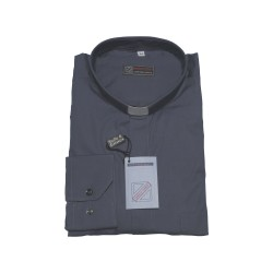 CAMICIA CLERGY POPELINE M/L